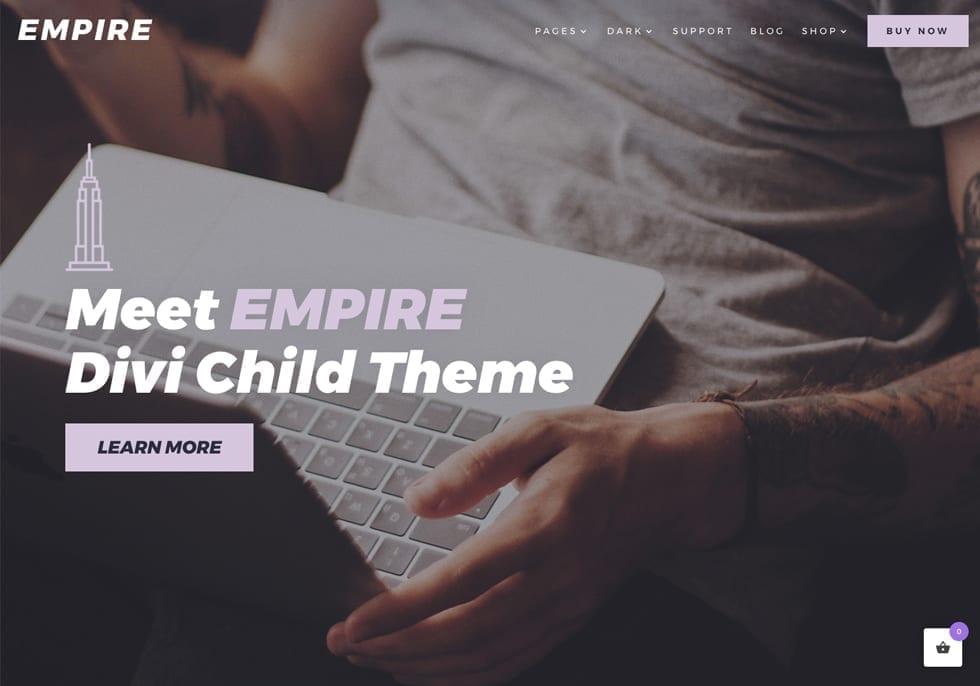 EMPIRE Divi Child Theme eCommerce